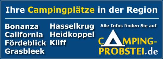 Camping Kiel - Campingplätze auf dem Kieler Ostufer