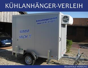 Kühlanhänger-Verleih